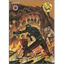 1993 Valiant Era MAGNUS ROBOT FIGHTER #13 - Card #14