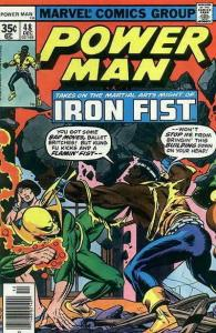 Power Man & Iron Fist #48 FN; Marvel | save on shipping - details inside