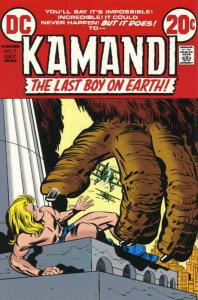 Kamandi, the Last Boy on Earth #7 FN; DC   save on shipping - details inside
