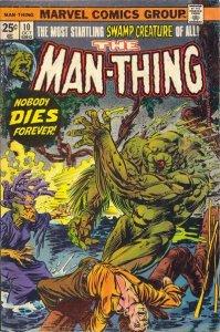 Man-Thing #10 (ungraded) stock photo / ID#00E