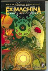 Ex Machina: Fact v. Fiction-#3-Brian K. Vaughan-2006-PB-VG\FN