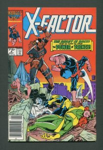 X-Factor #4  /  9.4 NM  /  Newsstand / May 1986