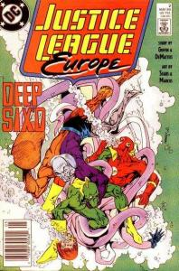 Justice League Europe #2, NM- (Stock photo)