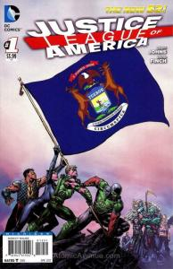 Justice League of America (3rd Series) #1B (23rd) VF/NM; DC | save on shipping -