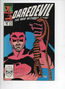DAREDEVIL #268 NM-  Murdock, Man without Fear, 1964 1989, more Marvel in store
