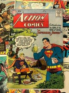 Action Comics #232 G+ 2.5 10c golden age SUPERMAN, JUNIOR man of steel NATIONAL