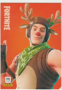 Fortnite Red-Nosed Ranger 124 Uncommon Outfit Panini 2019 trading card series 1