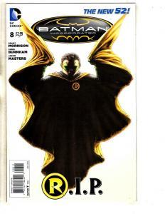 Batman Incorporated # 8 NM 1st Print DC New 52 Comic Book Joker Robin Ivy J316