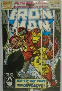 Iron Man ANN #12 DIR - 6.0 FN - 1991