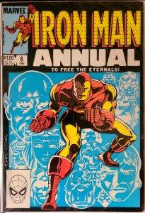 Invincible Iron Man Annual 6