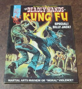 The Deadly Hands of Kung Fu #11 VF High Grade Magazine Martial Arts Billy Jack