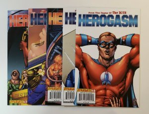 HEROGASM (FROM THE PAGES OF THE BOYS) #1-5 NM DYNAMITE COMICS 2009