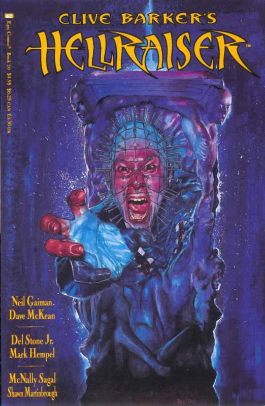 Hellraiser (Clive Barker's…) TPB #20 VF/NM; Epic   save on shipping - details in