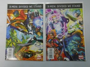 X-Men Divided We Stand set #1+2 6.0 FN (2008)