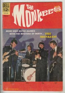 Monkees, The # 9 Strict FN/VF+ High-Grade Cover Photo Micky Dolanz, Peter Tork