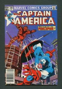 Captain America #285 / 7.5 VFN-  / MJ Variant September 1983