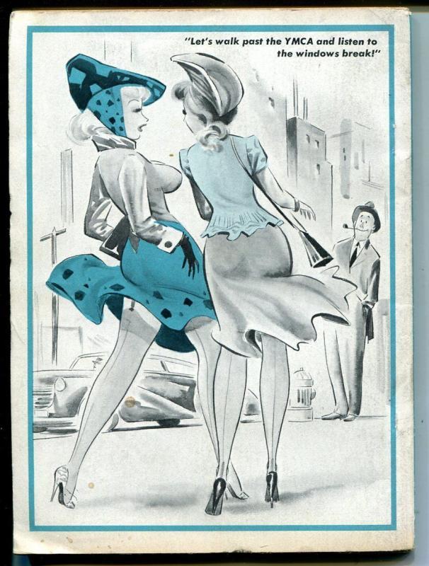 Joker 8/1954-Timely-Bill Wenzel-Ward-Helfant-snappy cartoons-VG/FN