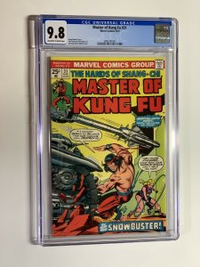 shang-chi Master of Kung fu 31 cgc 9.6 ow/w pages marvel bronze age