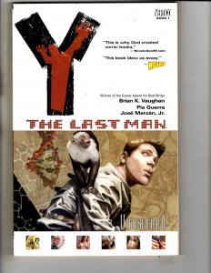 Y The Last Man Vol. # 1 DC Vertigo Comics Graphic Novel TPB Comic Book JS1