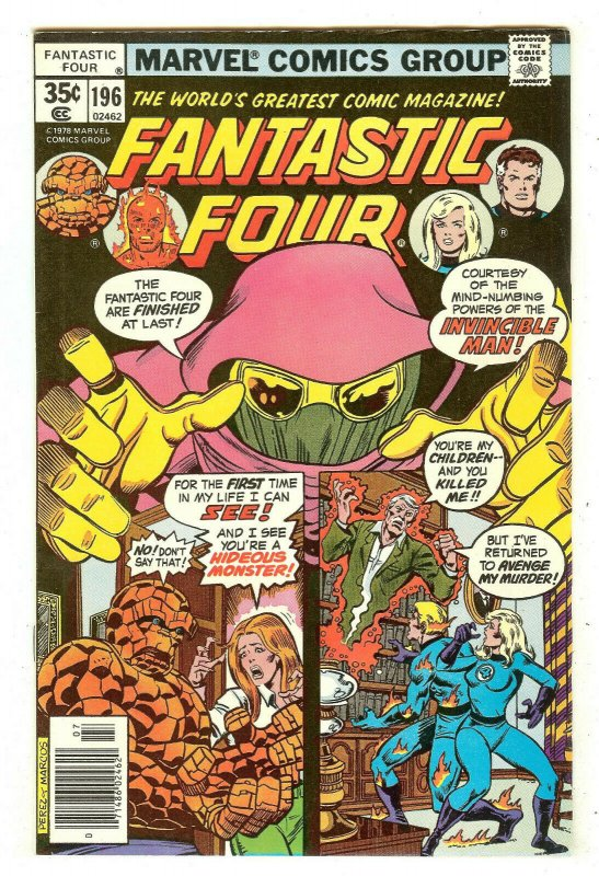 Fantastic Four 196   1st full clone of Doctor Doom