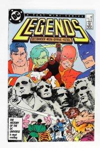 Legends #3, NM- (Actual scan)