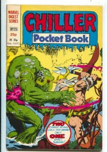 Chiller Pocket Book #25 1981-Marvel LTD-Marvel digest series from U.K.-Dracul...