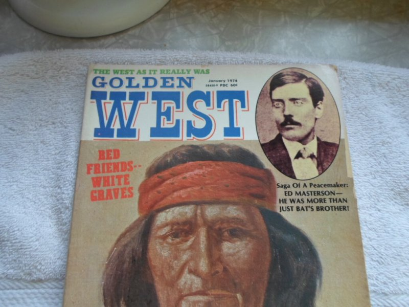 1974 STAGECOACH PUB. COMPANY COLDEN WEST