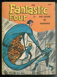 Fantastic Four The House of Horrors #5775 1968-Whitman-Big Little Book-VG/FN