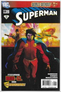 Superman   vol. 1   #686 VF (New Krypton green 19: World Without)
