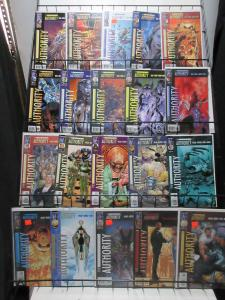 Authority Mini-Library Lot of 60Diff from 1998 to 2008 Ellis-Inspired Defenders