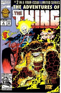 Lot Of 3 The Thing Marvel Comic Book #2 3 4 Thor Iron Man J192