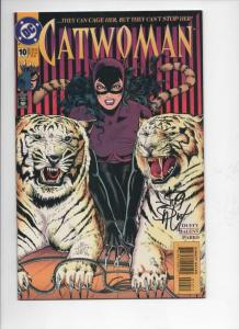 CATWOMAN #10, NM, Signed Jim Balent, Femme Fatale, Tigers,1993, more CW in store