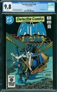 DETECTIVE COMICS #580 (CGC 9.8) Nocturna Appearance DC Comics