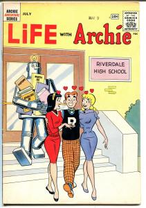 Life With Archie #9 1961-MLJ-Betty-Veronica-Robby The Robot-VF-