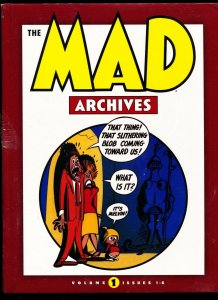 The Mad Archives-Vol 1-Issues 1-6-Harvey Kurtzman-Hardcover
