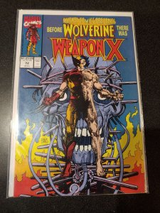 MARVEL COMICS PRESENTS #72 WEAPON X PART 1