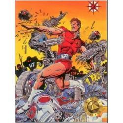 1993 Valiant Era MAGNUS ROBOT FIGHTER #0 - Card #1