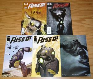 Fused #1-4 VF/NM complete series +ashley wood variant - steve niles/templesmith