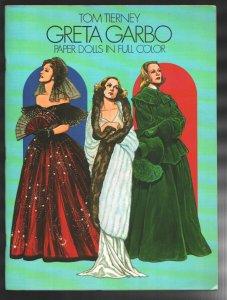 Greta Garbo Paper Dolls In Full Color #1 1985-First edition-Unused-Fashions-VF