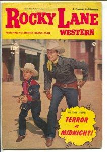 Rocky Lane Western #40-1952-Fawcett- B-Western movie star photo cover-VG+