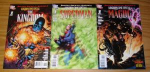 JSA Kingdom Come Special set of (3) VF/NM magog - superman - variants set lot