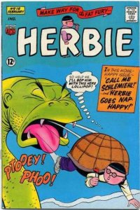 Herbie (1964 series) #15, Fine- (Stock photo)