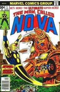Nova (1976 series) #5, VF- (Stock photo)