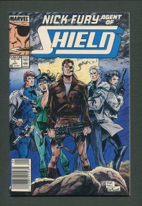 Nick Fury Agent of Shield #1  / 9.2 NM - 9.4 NM / September 1989