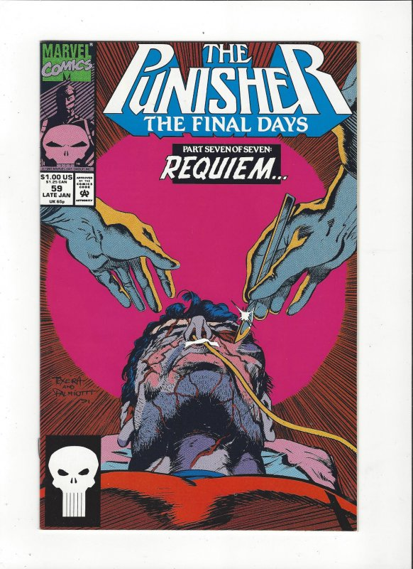The Punisher #59 (1987)  Final Days Marvel Comics NM