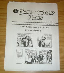 Comic Strip News #19 VF/NM; Quality Comic Art Productions | save on shipping - d