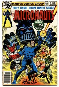 Micronauts-#1 gotg COMIC BOOK First Issue marvel  1978 nm-