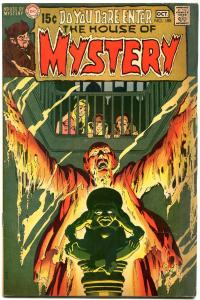 HOUSE OF MYSTERY #188 1970 DC WRIGHTSON ART ADAMS COVER--FN/VF