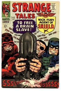 STRANGE TALES #143 comic book-NICK FURY/DR. STRANGE-MARVEL VF/NM