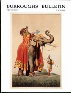 Burroughs Bulletin New Series #46 2001-ERB-Tarzan-Studley Buroughs-Herndon-VF